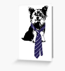 TGIF, Mr. Yorkie Greeting Card