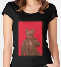 smol shibe Women's Fitted Scoop T-Shirt