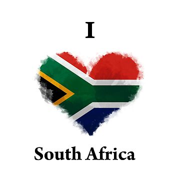 I Love South Africa by KarimStudio