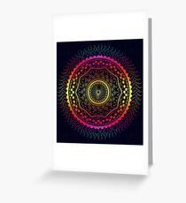 Rich Mandala  Greeting Card