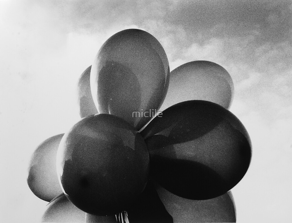 Balloons by miclile