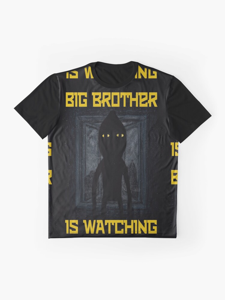 """Alternate view of """"Big Brother"""" Graphic T-Shirt"""
