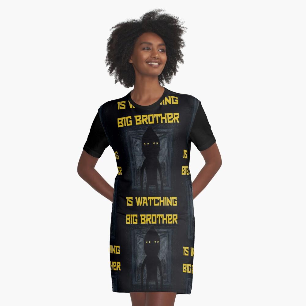 """Big Brother"" Graphic T-Shirt Dress"