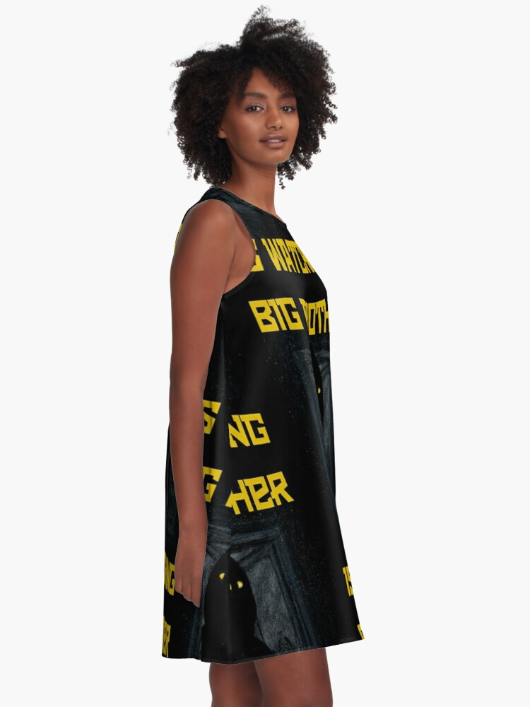 """Alternate view of """"Big Brother"""" A-Line Dress"""