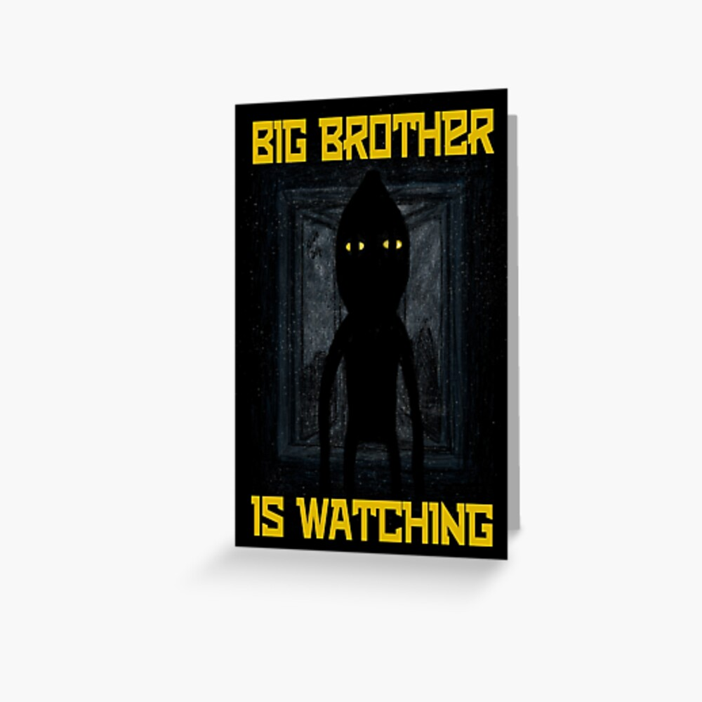 """Big Brother"" Greeting Card"