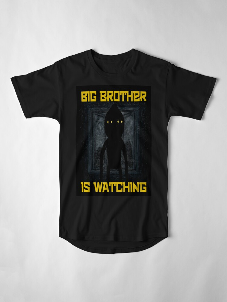 "Alternate view of ""Big Brother"" Long T-Shirt"