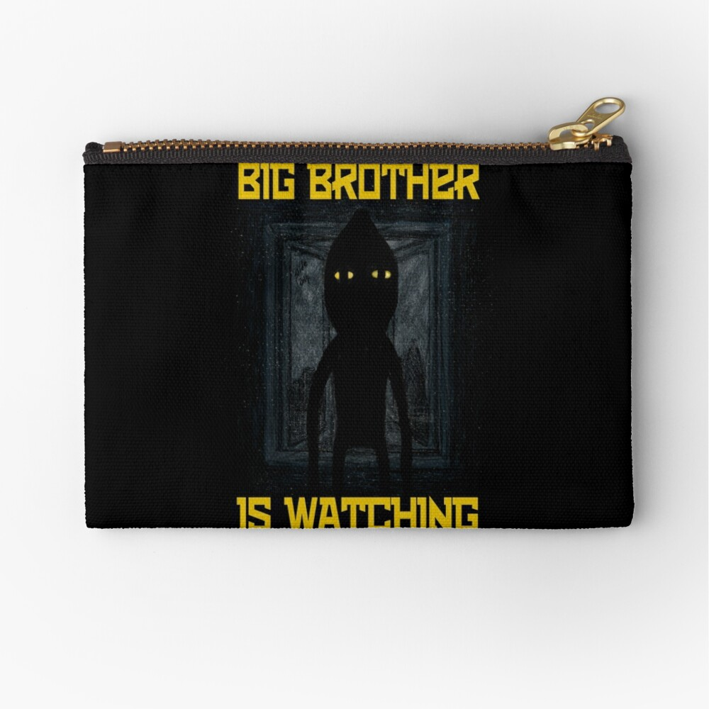 """""""Big Brother"""" Zipper Pouch"""