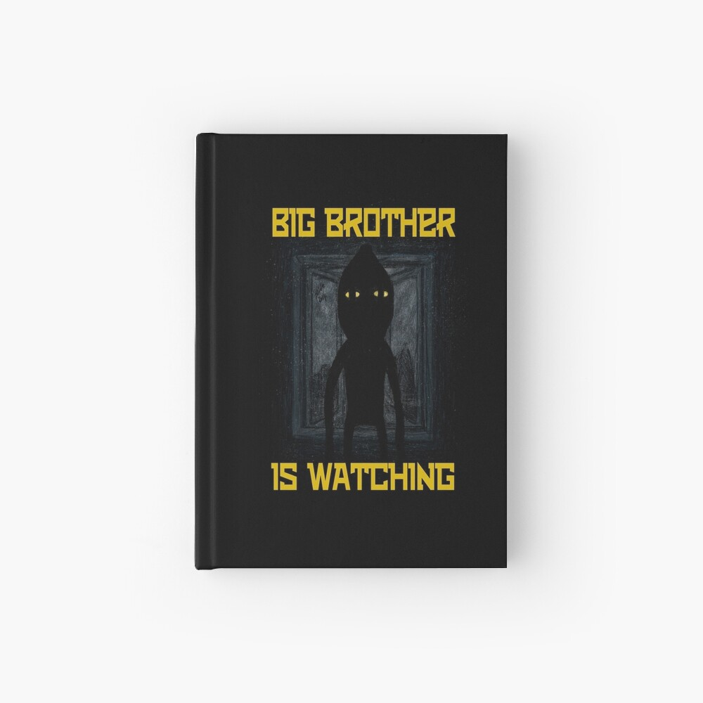 """Big Brother"" Hardcover Journal"