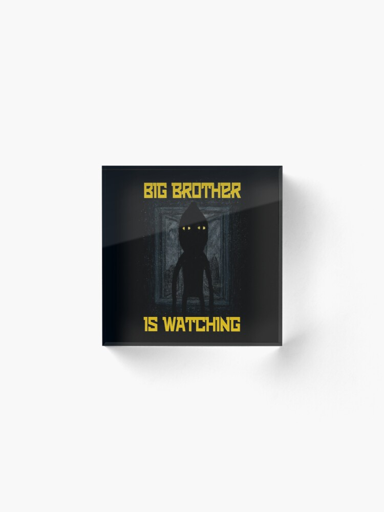 "Alternate view of ""Big Brother"" Acrylic Block"