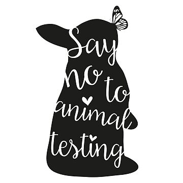 Say no to animal testing by schattevoet