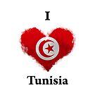 I Love Tunisia by KarimStudio