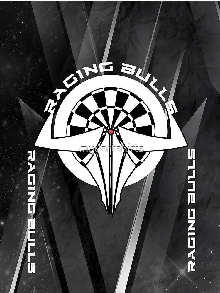 Raging Bulls Darts Team by mydartshirts