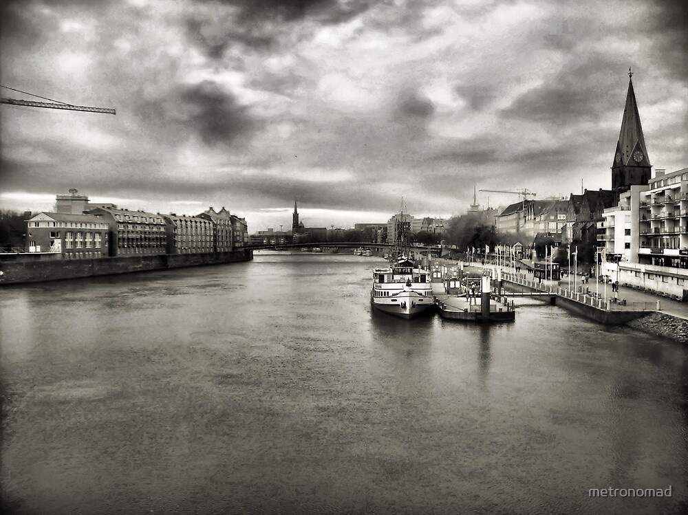 Weser River by metronomad