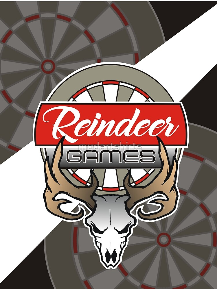 Reindeer Games Darts Team by mydartshirts