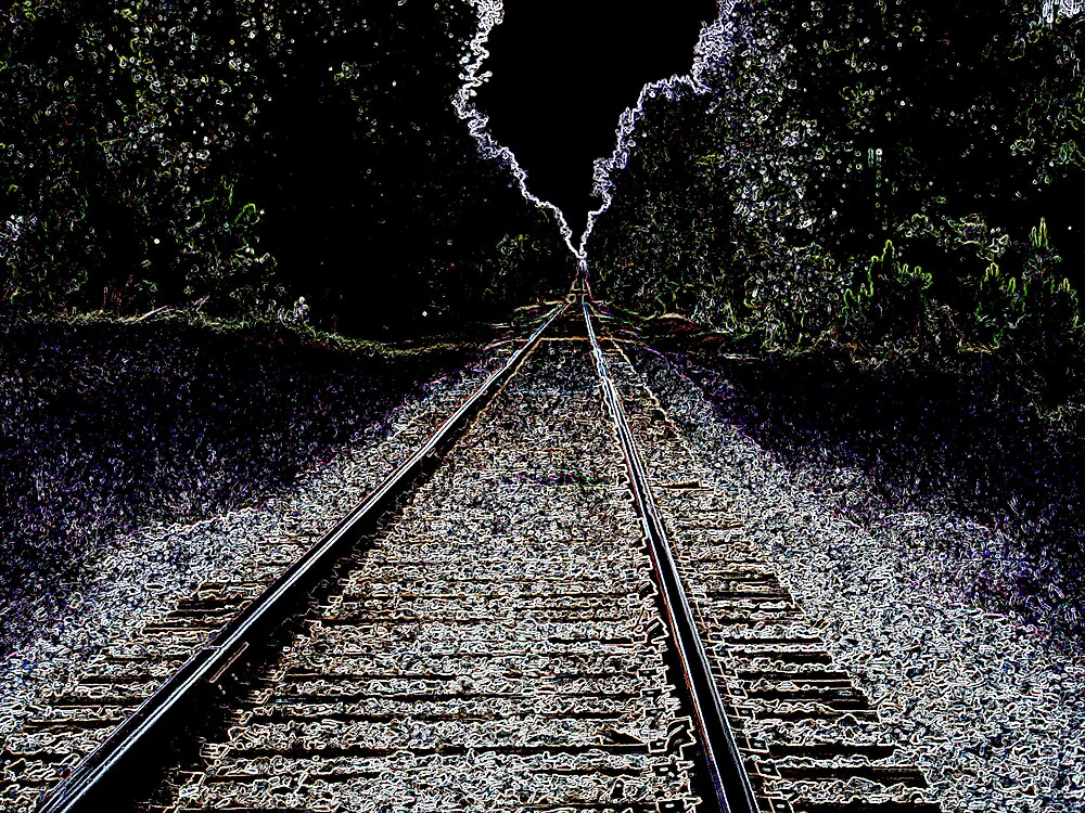 One Strange Looking Train Track. by Ray1945