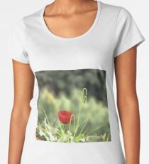 One Poppy Women's Premium T-Shirt
