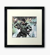 Men with Guns Framed Print