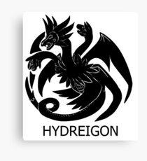 Targaryen Hydreigon Canvas Print