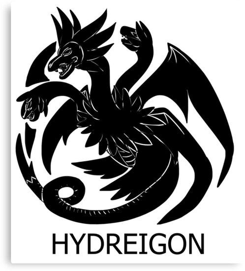 Targaryen Hydreigon by SheeKN