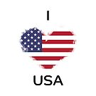 I Love USA by KarimStudio