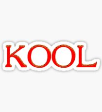 KOOL Sticker