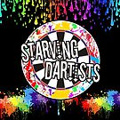 Starving Dartists Darts Team by mydartshirts