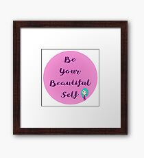 Your Beauty Shines Framed Print