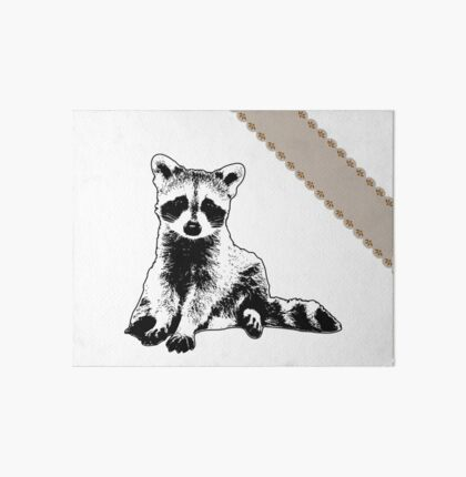 Raccoon - Critter Love Collection 6 of 6 Art Board