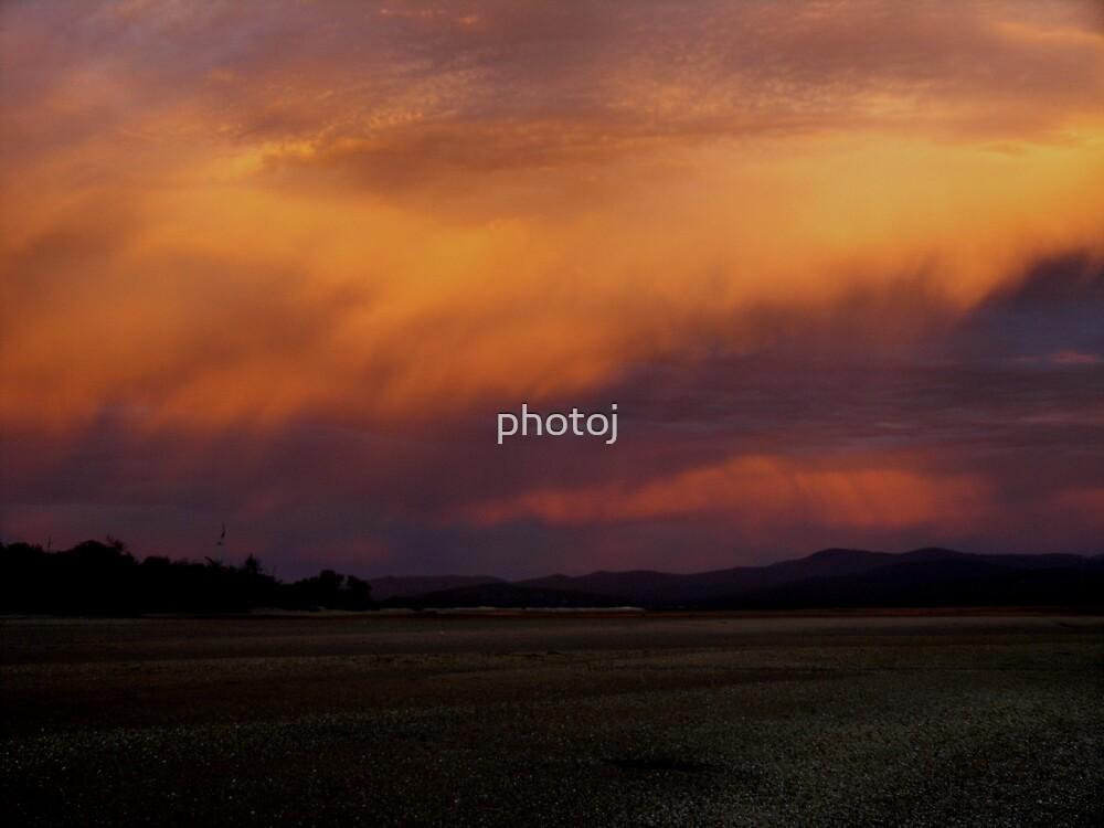 photoj Tas Bakers Beach, Sunset by photoj