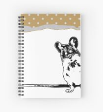 Mouse - Critter Love Collection 5 of 6 Spiral Notebook