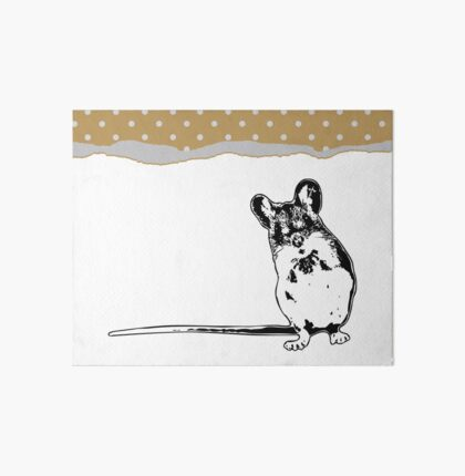 Mouse - Critter Love Collection 5 of 6 Art Board
