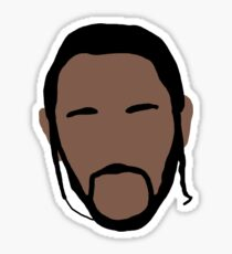 Kendrick Lamar Headshot 2.0 Sticker