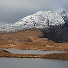 Mountains from Knockan Crag - Panorama by Maria Gaellman