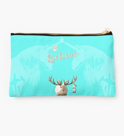 Believe In The Mythical Studio Pouch
