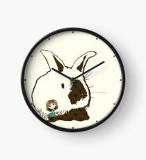 Bunny Love Clock