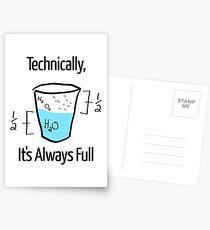 Science is Optimistic Postcards