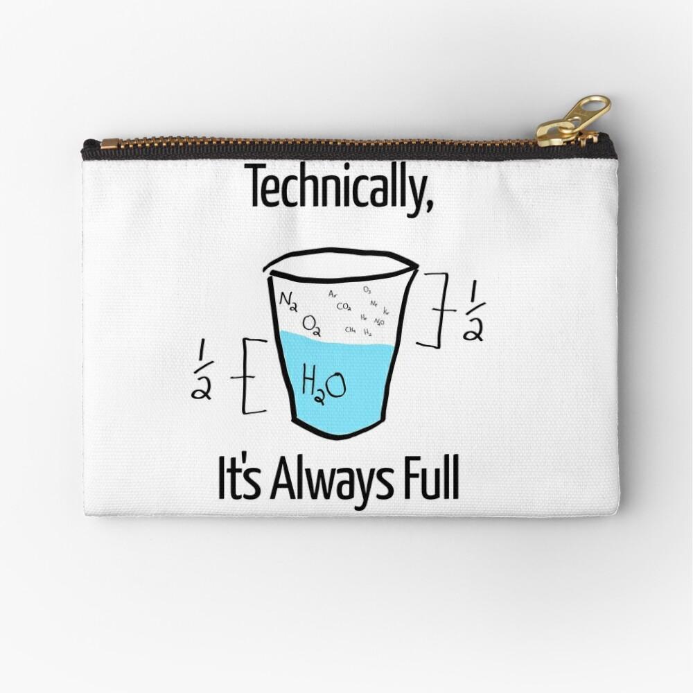 Die Wissenschaft ist optimistisch Täschchen