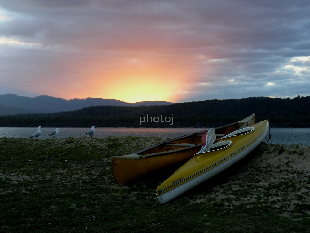 photoj Tas Bakers Beach Sunrise by photoj