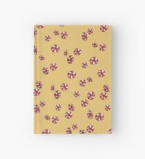 Peppermint Candy in Yellow Hardcover Journal