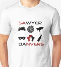 Sawyer and Danvers. Unisex T-Shirt