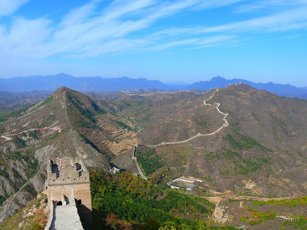 Great Wall by Marc-Pierre Lubas