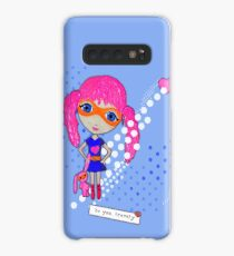 Bravely, She Took On The World Case/Skin for Samsung Galaxy
