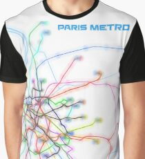 Paris Metro Graphic T-Shirt