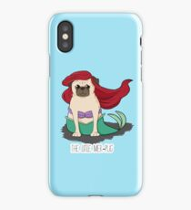 The Little Mer-Pug iPhone Case