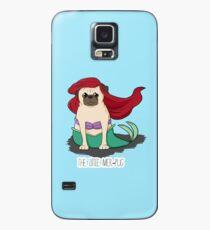 The Little Mer-Pug Case/Skin for Samsung Galaxy