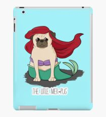 The Little Mer-Pug iPad Case/Skin