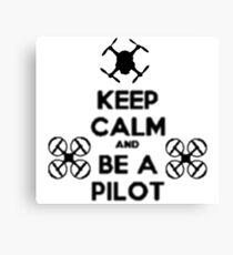 Drone Canvas Print
