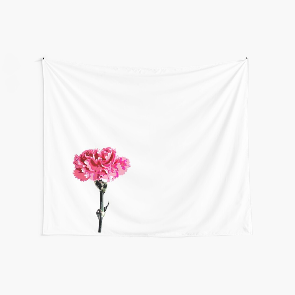 Psychedelic carnation Wall Tapestry
