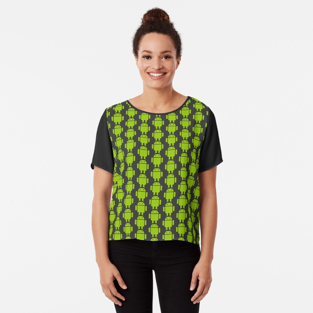 Android Droid Chiffon Top