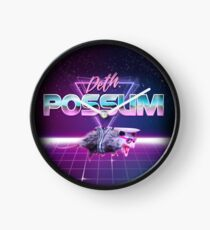 Deth Possum VICE Clock